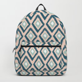 Southwest Ikat in Soft Peach Backpack