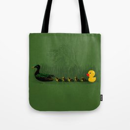 Rubber Duckling Tote Bag