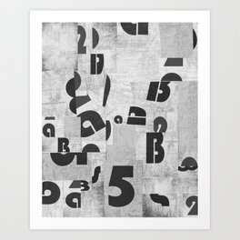 Abstract pattern 51 Art Print