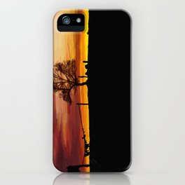 William Munny and his Wife iPhone Case
