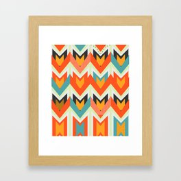 Shapes of joy Framed Art Print