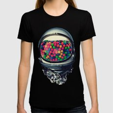 Astro Gum SMALL Black Womens Fitted Tee