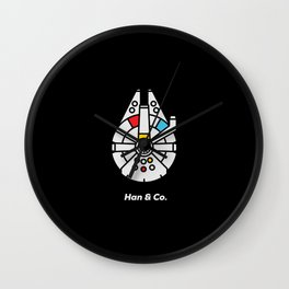 Han and Co Wall Clock