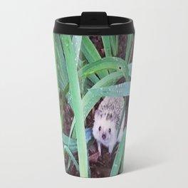 Juni Hedgehog Adventure in Plants Travel Mug