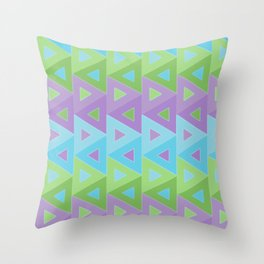 mauve abstract 1 Throw Pillow