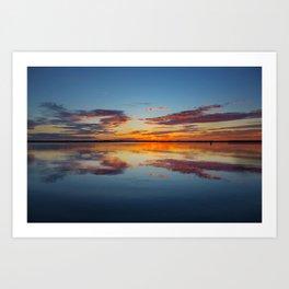 Sunrise over Plum Island Art Print