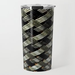 Metal Grid Travel Mug
