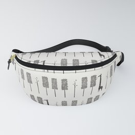 Piano Forest Fanny Pack
