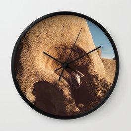 Skull Rock Views Wall Clock