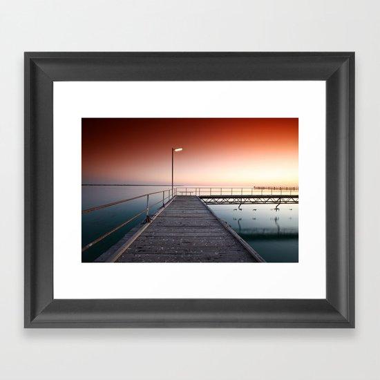 Summers Night Framed Art Print