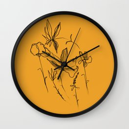 Remember The Small Joys Of Spring Wall Clock