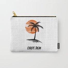 Carpe Diem Seize The Day Inspirational T-Shirt Carry-All Pouch