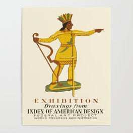 Native American Design Poster