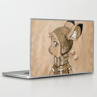mouse Laptop & iPad Skins featuring Mouse by Freeminds