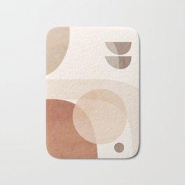 Abstract Minimal Shapes 16 Bath Mat