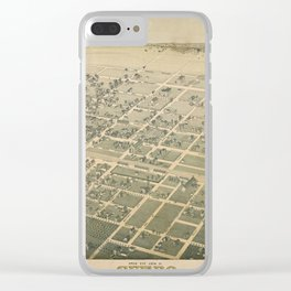 Cuero Texas 1881 Clear iPhone Case