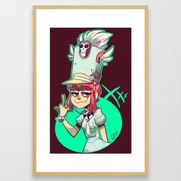KLK Nonon Framed Art Print