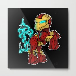 My Little Tony Metal Print