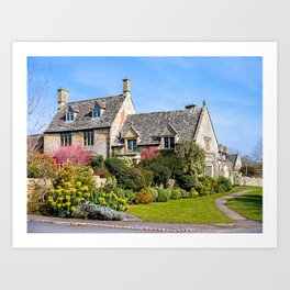 Captivating Property. Art Print