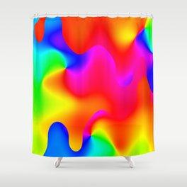 Hotspots of felicity ... Shower Curtain