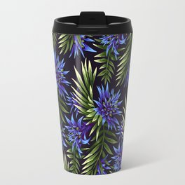 Aechmea Fasciata - Blue/Green Travel Mug