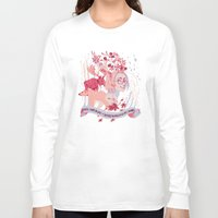 hetalia Long Sleeve T-shirts featuring Matthew Willams, Canada day! by Camille Dion-Bolduc