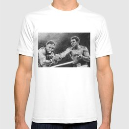 Thrilla in Manilla Pencil Drawing T-shirt