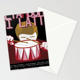 The tin drum Stationery Cards