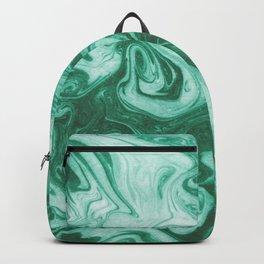 Eiji - modern minimal marbled ink paper monoprint printmaking japanese spilled ink artwork  Backpack