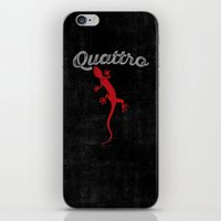 audi iPhone & iPod Skins featuring Quattro by Pisthead