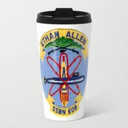 USS ETHAN ALLEN (SSBN-608) PATCH Travel Mug