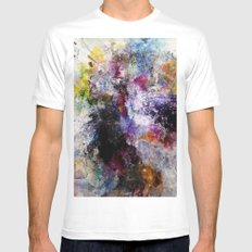 Once Was White MEDIUM Mens Fitted Tee