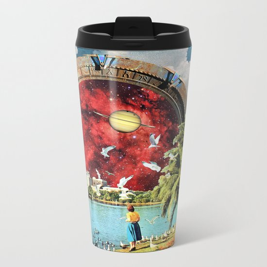 Stargate Installation Metal Travel Mug