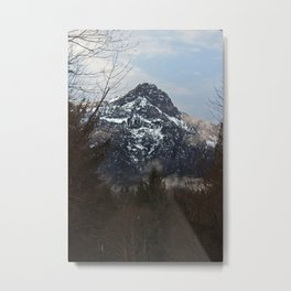 Valley of Ice Metal Print