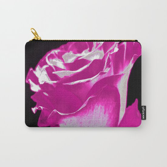 Colorful Rose F Carry-All Pouch