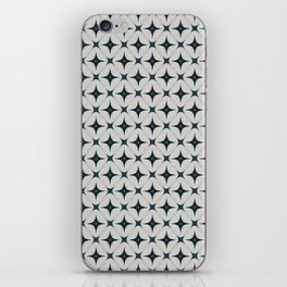 Diamond Wallpaper with Warm Grey Back iPhone Skin