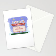 Elm Road Drive-In - Warren OH Stationery Cards
