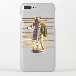 Gold Series-Stand Strong Clear iPhone Case