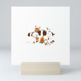 Horn Kabob Mini Art Print