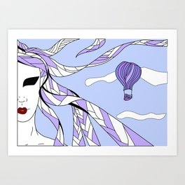 Elements - Air Art Print