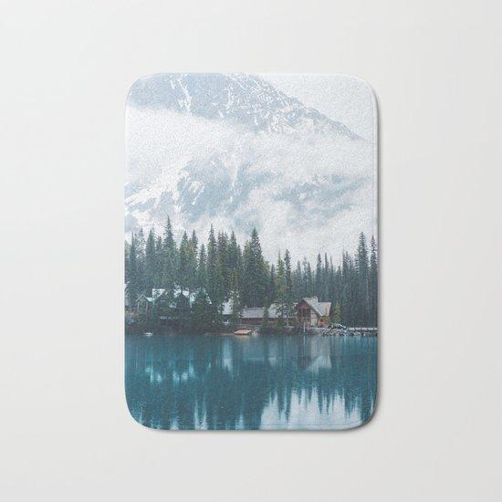 Emerald Lake Lodge II Bath Mat