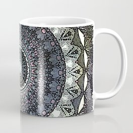 Distressed Mandala Coffee Mug