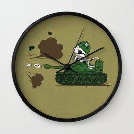 Muso Milkwar Tanker Wall Clock