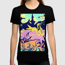 Liquid paint, mixing the colors T-shirt