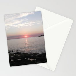 Sunset in Paphos Stationery Cards
