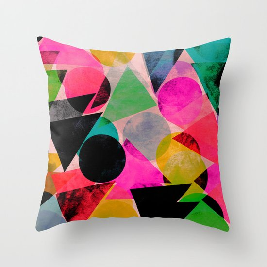 Graphic 28 Throw Pillow