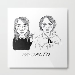 Palo Alto Metal Print