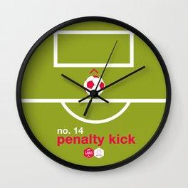Penalty Kick (No.14) Wall Clock