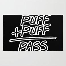 Puff + Puff = Pass Rug