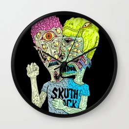 Monster Buddys Wall Clock